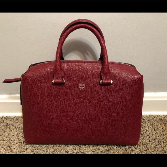 9c2216cc157d9f MCM medium Ella Boston bag. M 5a7e672ca44dbe040bf2a7f6